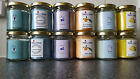 Melts n More Hand Made and Scented,  Medium Jar Candle 8 oz  - Fragranced