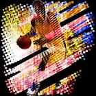 Frenetic Basketball Player Design T-Shirt, bk40046