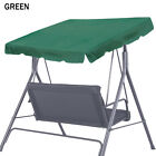 "New Patio 77""x43"" Swing Hammock Canopy Replacement Top Cover Porch Yard Sunshade"