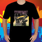 New Steppenwolf Born to Be Wild Men's Black T-Shirt Size S to 3XL