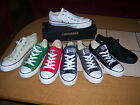 Converse All Star Ox Chucks, Kult, low, weiß, rot, grün, schwarz, navy, grau