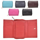 Ladies Genuine Leather Purse with Zipped Coin Tray by London Leather