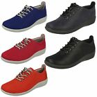 Ladies Clarks Cloud Steppers Lace Up Shoes 'Sillian Tino'