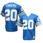 BARRY SANDERS Detroit LIONS Blue MITCHELL & NESS Throwback PREMIER Jersey S-2XL