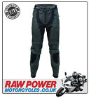 Richa Piranha Leather Motorcycle Motorbike Trousers - Black