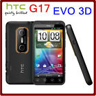 Original HTC EVO 3D X515m G17 3G Dual-Core WIFI GPS 5MP TouchScreen Unlocked