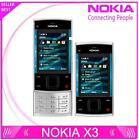 Nokia X3 Mobile Cell Phone Bluetooth 3.2MP MP3 Player X3-00 Slider Cellphone