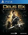 New Sony PS4 Games Deus Ex Mankind Divided HK version English Voice & Subtitle