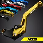 1Pair MZS Clutch Brake CNC Levers For Kawasaki ZX7R/ZX7RR 89-03 Zephyr 1100 alle
