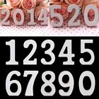 New Wooden Numbers For Wedding Birthday Home Decor Nursery Decor Educational Toy