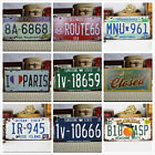 Vintage Decorative Car License Plate Great Bar Room Home Decor Tags Collectible