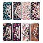 Diamond Printed Flower Leather Cover Case For Samsung Galaxy S6 Edge Note5 A7