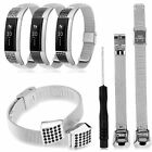 Replacement Stainless Steel Wristband Bracelet Strap Wrist Band for Fitbit Alta