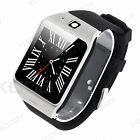 LG118 Smart Wrist Watch Bluetooth GSM Phone Mate For Android Samsung iPhone HTC