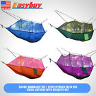Camping Hammock, Rusee Mosquito Net Outdoor Hammock Travel Bed Lightweight For