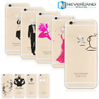 Fashion Pattern Soft/Hard Phone Clear Backe Case Cover For Apple iPhone 4S/5S/6S
