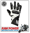 Richa WSB Motorcycle Motorbike Glove - Black/White