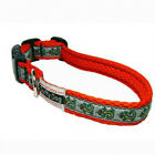 Spiffy Dog Red Gecko Pet Dog Collar