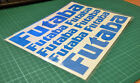 Futaba Cut Vinyl Decals Stickers for R/C Aircraft, R/C Helicopters & R/C Cars