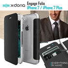 X-doria Engage Folio Leather Wallet Card Case Cover For Apple iPhone 7 / 7 Plus