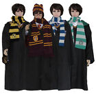 New Harry Potter Scarf Gryffindor Slytherin Hufflepuff Ravenclaw gift cosplay