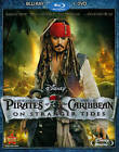 Pirates of the Caribbean On Stranger Tides Blu-ray DVD 2011 2-Disc Set