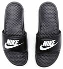 Nike Benassi Just Do It sandali a slitta in nero 343880 090