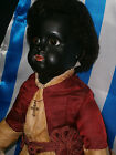 "AMAZING RAREST PERFECT FRENCH  BLACK BEBE JUMEAU CHARACTER DOLL "" PARIS BEBE-7 """