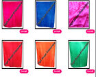 BELLY DANCE SILK VEIL HAND DYED  45X108 INCHES  SOLID COLORS FREE SHIPPING