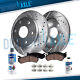 6 Lug Front Drilled Rotors & Ceramic Brake pad Chevy Tahoe Silverado GMC Sierra
