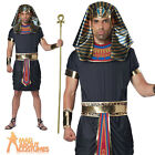 Adult Deluxe Pharaoh Costume Egyptian Mens Fancy Dress Outfit New