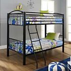 L. Powell Powell Heavy Metal Twin Over Twin Bunk Bed