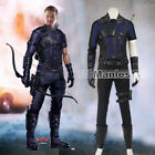 Captain America 2 Civil War Cosplay Hawkeye Clinton Barton Costume Halloween