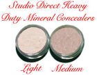 MINERAL PURE NATURAL MAKEUP HEAVY DUTY CONCEALER PRIMER LOOSE POWDER SAMPLE SIZE