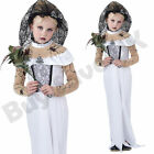 CHILDRENS KIDS GIRLS ZOMBIE CORPSE BRIDE HALLOWEEN FANCY DRESS COSTUME 7-12