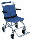 Drive Medical Super Light Folding Transport Chair w Carry Bag SL18 Wheelchair