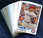 2013 Topps Texas Rangers Baseball Card Your Choice - You Pick