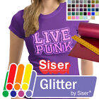Siser GLITTER Heat Transfer Vinyl Tshirt Iron-On/Heat Press - 20