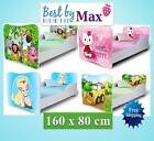 KIDS TODDLER CHILDREN WOODEN BED (160cm Long) INCLUDING MATTRESS + FREE DELIVERY