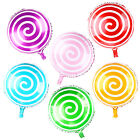"18"" CANDY SWIRL LOLLIPOP FOIL HELIUM BALLOON CHRISTMAS BIRTHDAY EASTER PARTY KID"