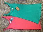 NWT Lucky Brand Tank Top Coral or Green S or XS