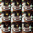 20PCS Handmade Cupcake Toppers Wedding Birthday Decorations