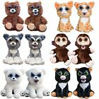 Feisty Pets - Soft Plush Stuffed Scary Face Toy Animal With Attitude (10 Styles)
