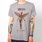 Nirvana-in utero rock band grunge 90s Kurt Cobain indie unisex t-shirt