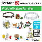 NEW! SCHLEICH WORLD OF NATURE FARM LIFE PARTS & ACCESSORIES - FULL RANGE!