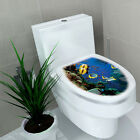 Bathing Room Decor  DIY Toilet Seats Removeable Stickers Decal Vinyl Mural