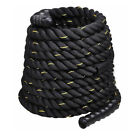 Poly Dacron 30ft/40ft/50ft Length Battle Rope Training Exercise Strength Workout