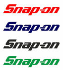 4 Adesivi SNAP ON Sponsor Stickers Motocycle Accessori Ricambi Sport Regalo