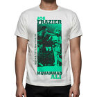 Men's Boxing Fight Joe Frazier vs Muhammad Ali Cassius Clay T-Shirt M59