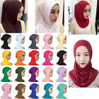 Cotton Muslim Inner Hijab Soft Caps Islamic Full Cover Hats Islamic Underscarf